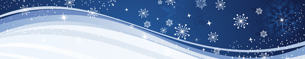 Winter Scene Banner